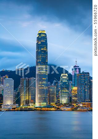 香港維多利亞港Victoria Harbour, Hong Kong 55966720