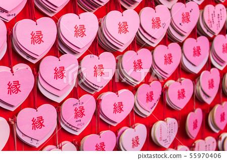 [愛知縣犬山市]來自Sanko Inari Shrine的心形馬 55970406