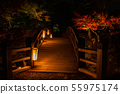 Autumn Shiga Hikone National Treasure Hikone Castle Genmiyaen Lights 51 55975174