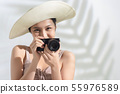 女性旅行 55976589