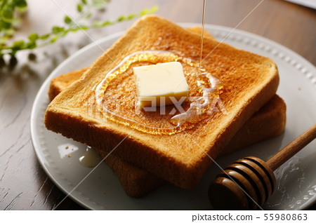 토스트 빵 이미지 55980863