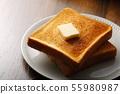 빵 토스트 55980987