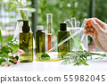 Scientist with natural drug research, Natural 55982045