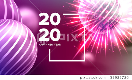 Celebrating Happy New Year Invite Banner Vector 55983786