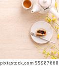 中秋节 月饼 顶视图 下午茶 Mid-Autumn Festival Moon cake げっぺい 55987668