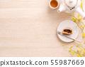 中秋节 月饼 顶视图 下午茶 Mid-Autumn Festival Moon cake げっぺい 55987669