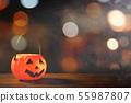万圣节 南瓜 灯笼 不给糖就捣蛋 Halloween pumpkin lantern ハロウィン 55987807