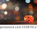 万圣节 南瓜 灯笼 不给糖就捣蛋 Halloween pumpkin lantern ハロウィン 55987812
