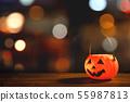 万圣节 南瓜 灯笼 不给糖就捣蛋 Halloween pumpkin lantern ハロウィン 55987813
