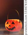 万圣节 南瓜 灯笼 不给糖就捣蛋 Halloween pumpkin lantern ハロウィン 55987839