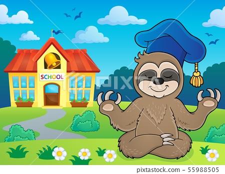 Sloth teacher theme image 4 55988505