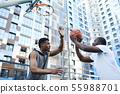 Basketbal Game 55988701