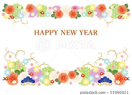 科技兒童年 - 新年卡片模板-l2 55990821