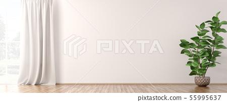 Interior background 3d render 55995637