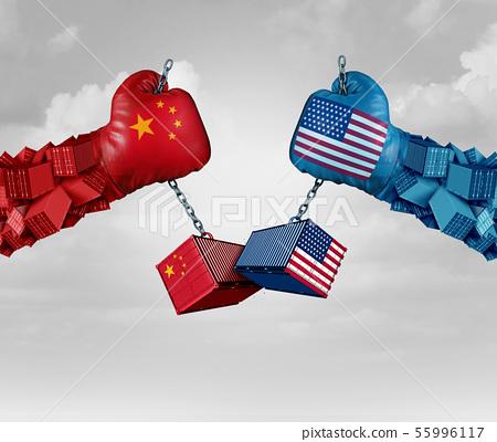 China US Tariff War 55996117