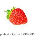 Strawberry isolated on white background.  55999595