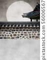 韓國,韓屋,圍欄 56006567