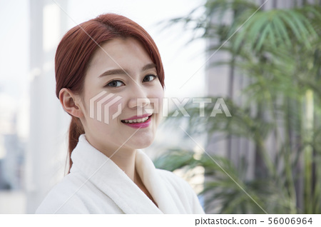 Attractive beautiful woman daily life 385 56006964