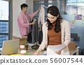 여자, 사업가, 여성 56007544
