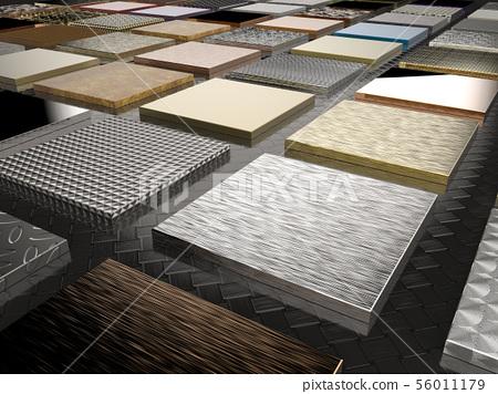 various metal plates 56011179