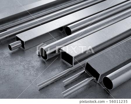 metal pipes 56011235