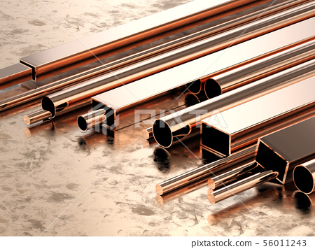 copper pipes 56011243