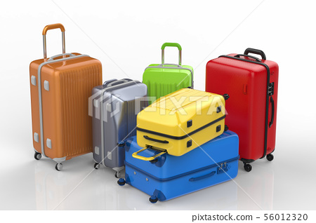 hard case colorful luggages 56012320