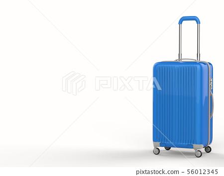 blue hard case luggage 56012345