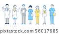 醫療人員設置藍色 56017985