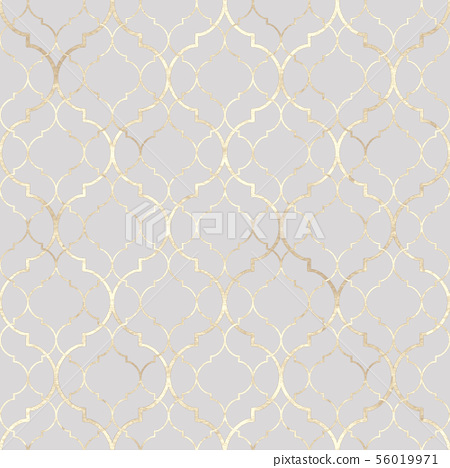 Abstract geometric seamless pattern. Oriental 56019971