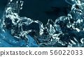 Abstract water splash detail 56022033