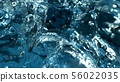 Abstract water splash detail 56022035