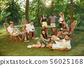 party, eating, family 56025168