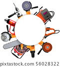 Vector Power Tools Round Frame 56028322