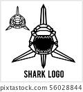 鯊魚 ICON 圖示 56028844
