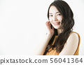 美麗女性形象女性年輕女子 56041364
