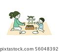 Obento父母和孩子 56048392