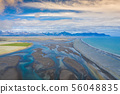 Aerial view South-Eastern Iceland. Overwhelming 56048835