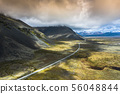 Amazing Icelandic nature - colourful 56048844