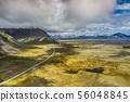 Amazing Icelandic nature - colourful 56048845