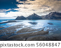 Aerial view South-Eastern Iceland. Overwhelming 56048847