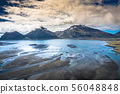 Aerial view South-Eastern Iceland. Overwhelming 56048848