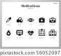 Medical icons Solid pack 56052097