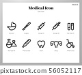 Medical icons Line pack 56052117