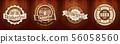 Oktoberfest beer logo bundle set for bar or pub 56058560