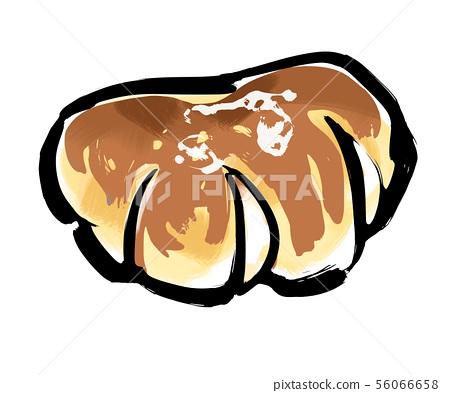 Cream bread-color 56066658