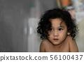 Portrait of Asian girl 56100437