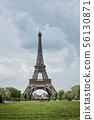 Eiffel Tower and Champ de Mars 56130871
