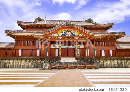 오키나와의 세계 유산 아름다운 슈리 56144529