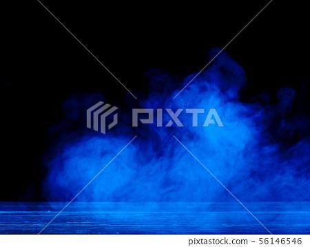 煙靛藍黑色背景人教派藍色煙背景藍色煙回 56146546